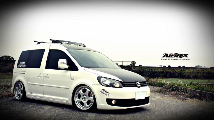 AirREX UK releases VW Caddy Van High-Performance Air Suspension Kit