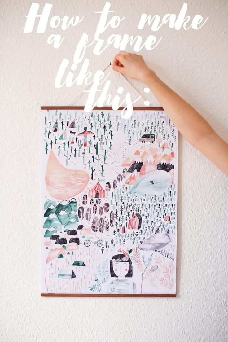 10 creative ways to hang photos without frames in 2020