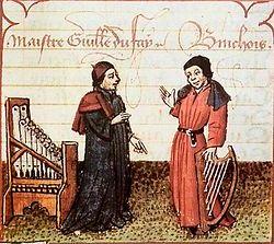 Guillaume Dufay et Gilles Binchois