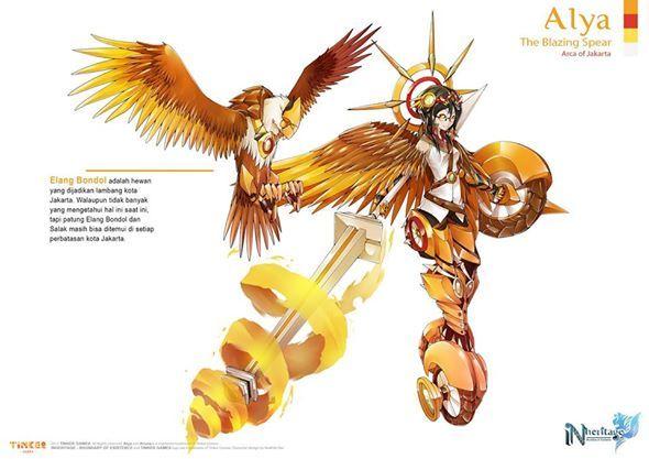 Alya / The Blazing Spear / Arca of Jakarta (Indonesia)