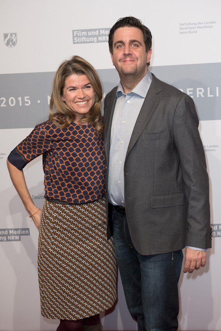 Pin for Later: Das war die 65. Berlinale - seht hier die besten Bilder! Tag 4 Anke Engelke und Bastian Pastewka