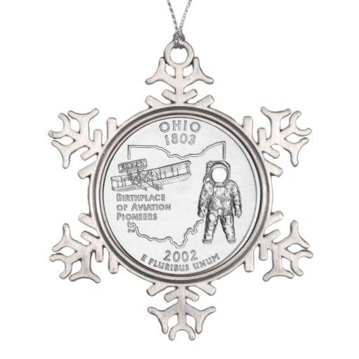 Ohio State Quarter Ornament