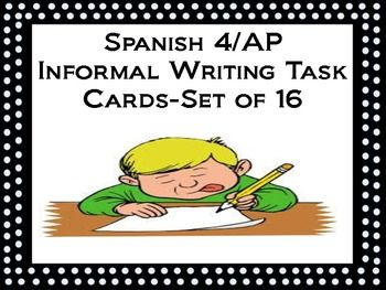 Writing a card in spanish