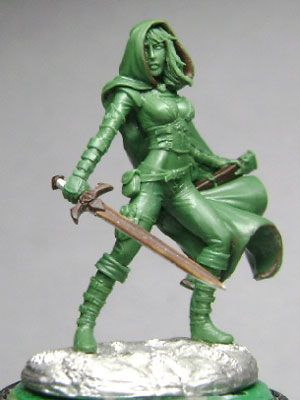 Female Assassin - Visions in Fantasy - Miniature Lines