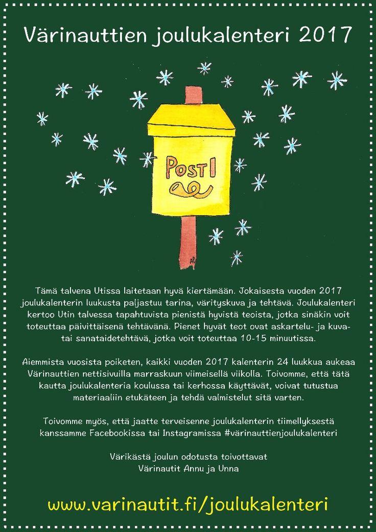 Värinauttien joulukalenteri
