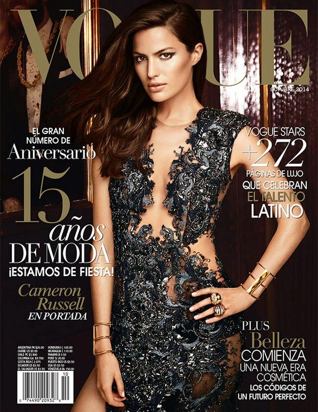 Cameron Russell by Alexi Lubomirski Vogue Mexico October 2014