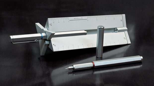 The Apollo Technical Pen and Drafting Scale by Pranay & Paul — Kickstarter.  The world's most versatile Technical Pen and Drafting Scale. Supports 50+ precision-point refills, modular upgrades and so much more.