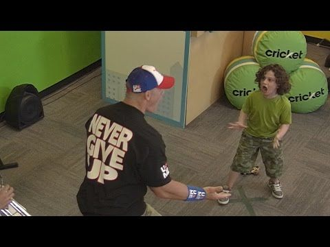 It's JOHN CENA! Watch John Cena Prank Loyal Fans In This Delighting Video - 9GAG.tv