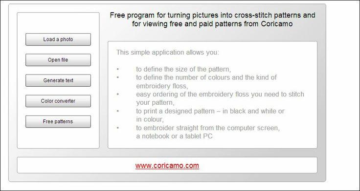 Free cross stitch pattern generator