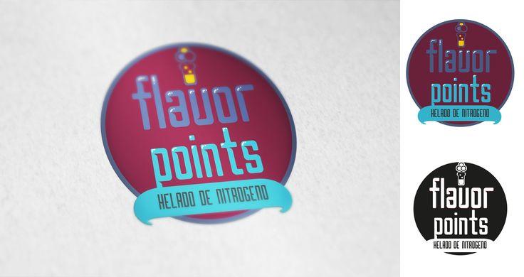 Logo para una heladería