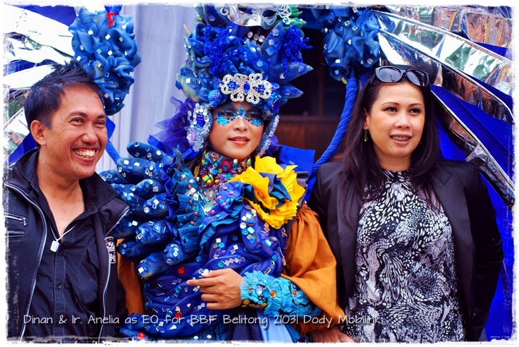 the SC of EO > Dinan Fariz and Ir. Anelia fr. Sriwijaya Media Convex