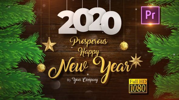 Christmas And New Year Opener 2020 Video Video Christmas Wishes Greetings Happy New Year Gif Merry Christmas And Happy New Year