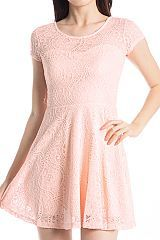 Lacy Flared Dress
