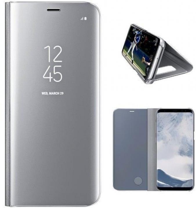 Clear View Standing Cover Samsung Galaxy S8 Srebrist 53448 Cena Plasico It Superstore Galaxy S8 Samsung Galaxy Galaxy