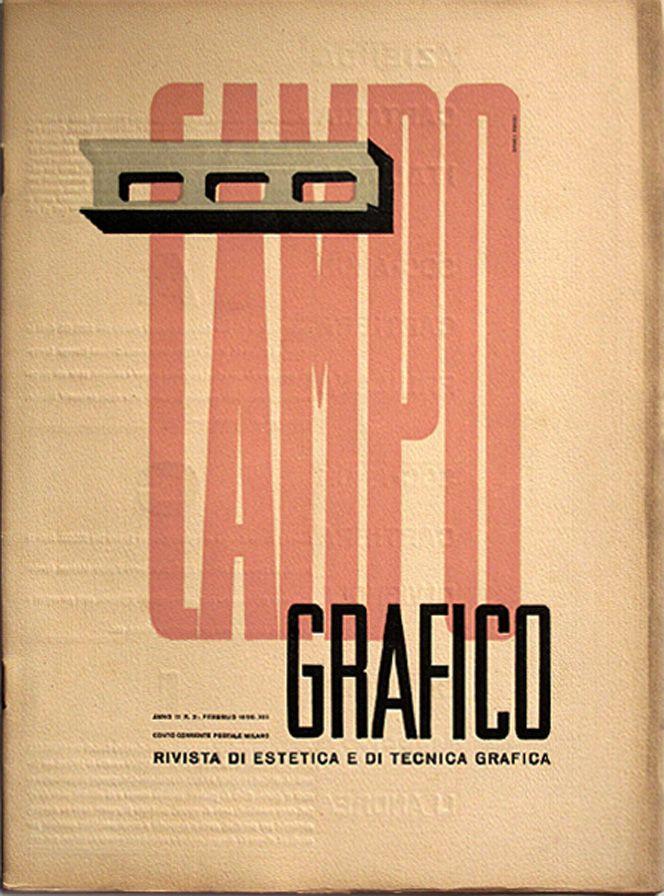 Campo Grafico - Nº.2 - Carlo Dradi & Attilio Rossi, February 1935