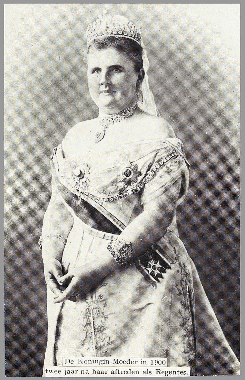 1900 Queen Mother Emma of the Netherlands