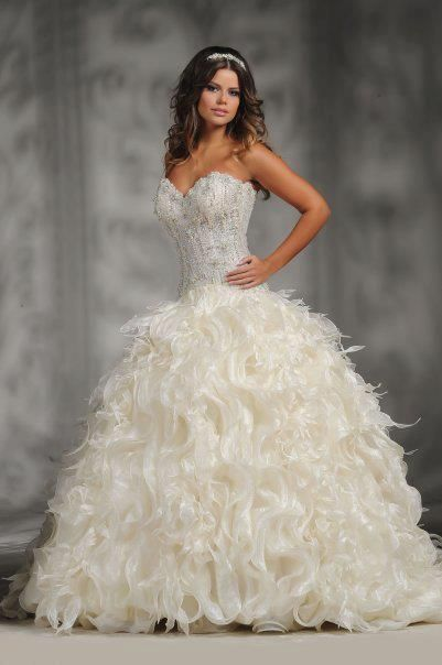21 Romantic Wedding Dresses ‹ ALL FOR FASHION DESIGN