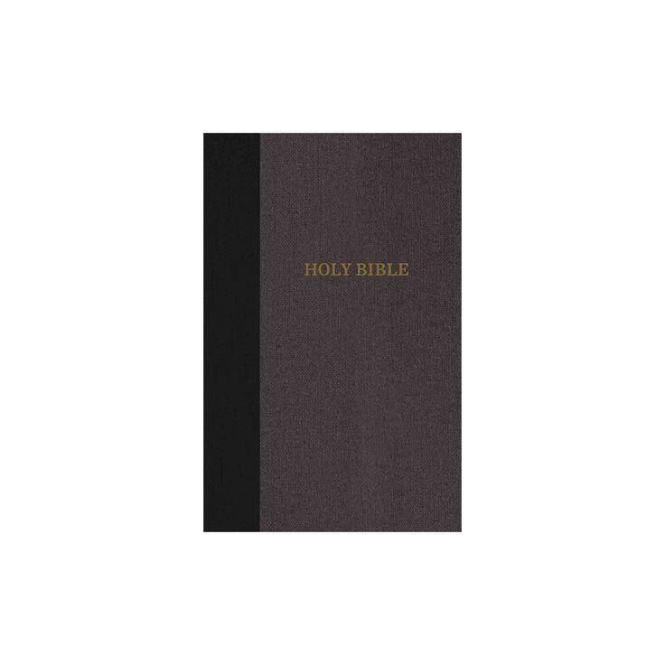 KJV, Thinline Bible, Large Print, Imitation Leather, Burgundy, Red Letter Edition