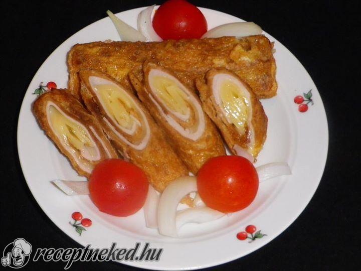 A legjobb Sajttal, sonkával töltött bundás kenyér rolád recept fotóval egyenesen a Receptneked.hu gyűjteményéből. Küldte: Békefi Rita