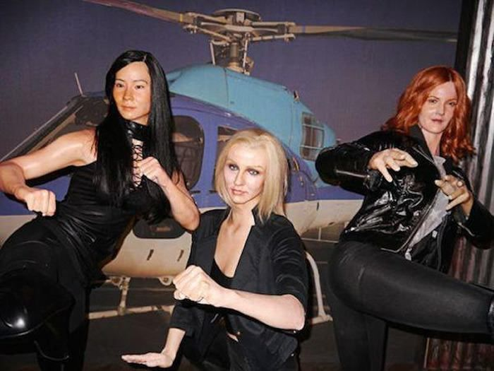 Charlie's Angels  The 18 Most Bizarre And Scary Celebrity Waxworks You'll Ever See • Page 4 of 5 • BoredBug