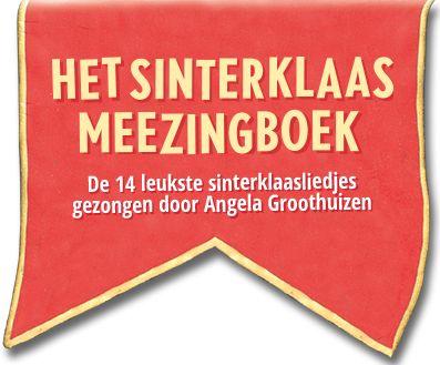 Het Sinterklaas Meezingboek - de liedjes zijn te zien op YouTube!