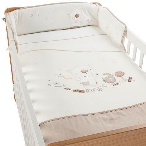 Kiddicare Little Bear Hugs 5 Piece Bedding Set