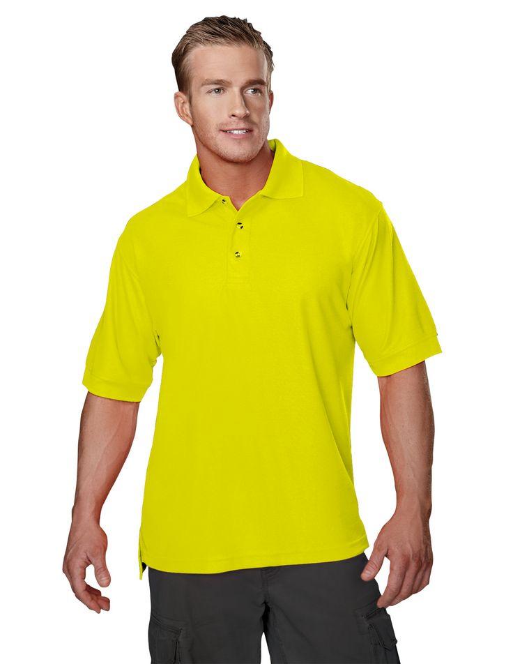 Poly Safety Pique Golf Shirt Tri mountain 100