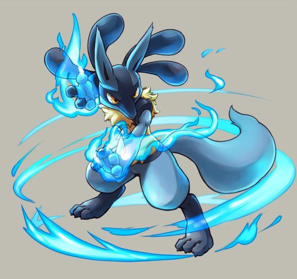 Pokémon Fan Art: Lucario
