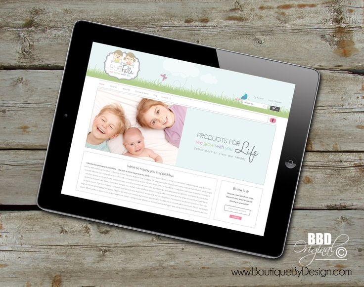 Responsive, mobile friendly website design #boutiquebydesign #ResponsiveWebsiteDesign boutiquebydesign.com