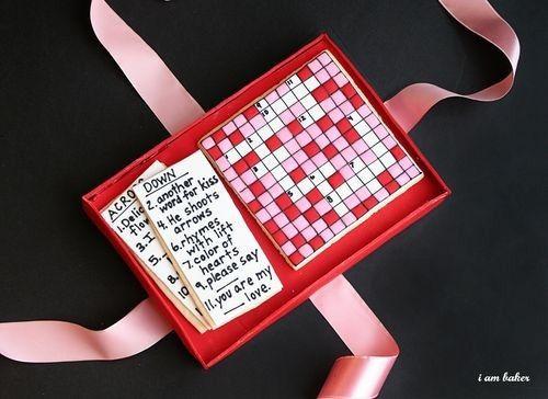 кроссворд составленный вами - классный подарок на день святого валентина