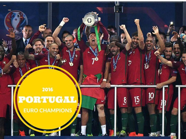 Congratulations to Portugal! Euro 2016 champions! #euro2016 #ronaldo #portugal #football #soccer #futebol