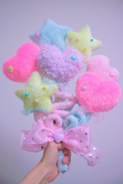 colorful pompom
