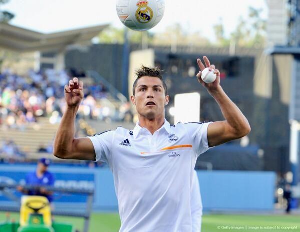 Cristiano Ronaldo Ayer