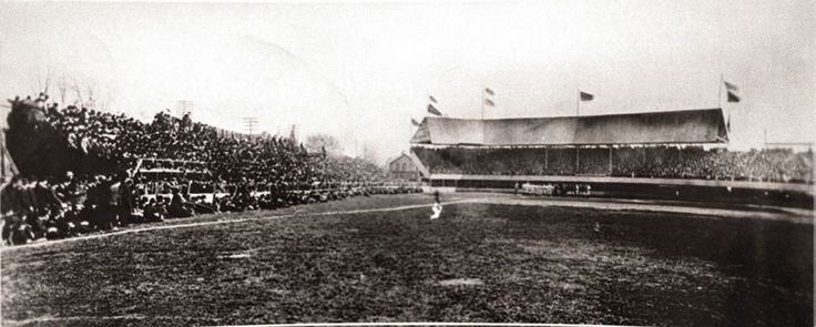 On April 25, 1901, in their first game as a charter member of the fledgling American League, the Detroit Tigers stage perhaps the greatest comeback in franchise history by scoring 10 runs in the ninth inning to beat Milwaukee, 14-13. The game is played in front of 10,023 fans at Bennett Park at the corner of Michigan and Trumbull, the site where Tigers baseball would be played for the next 98 years.
