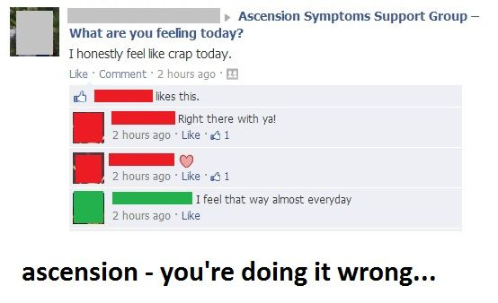 Ascension - you're doing it wrong...