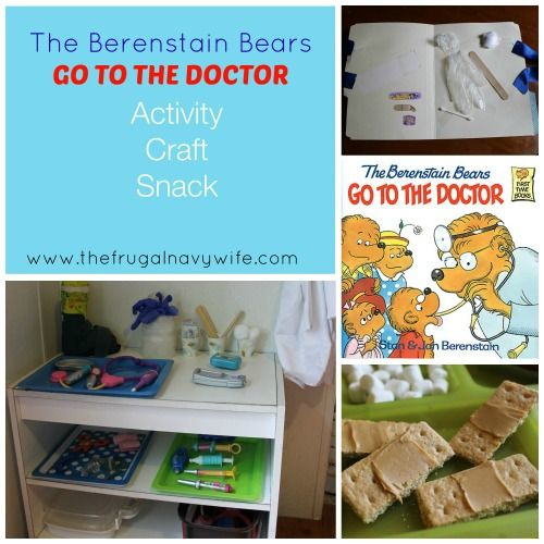 Berenstain Bears Go to The Doctor Unit Study - Great for imaginative play and learning anatomy!