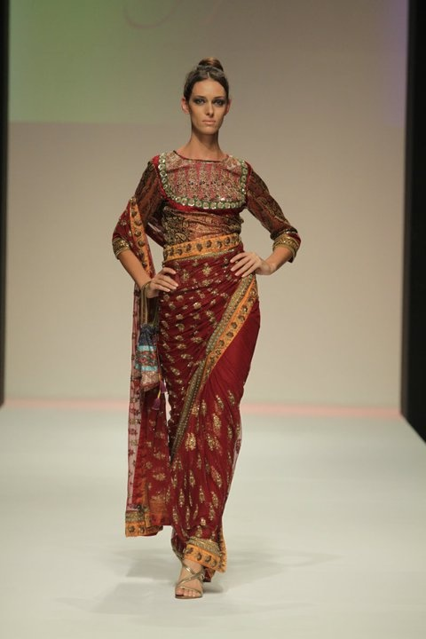 Sari from Nizam by Arnab Sengupt