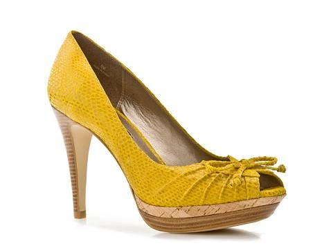 Moda Spana Pippy Pump in Yellow at dsw.com