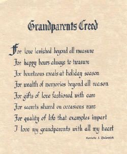 Sayings About Granddaughters | Norman Rockwell Tender Tributes prints
