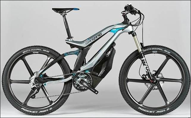 Full Suspension M1 Spitzing Electric Bike Which The