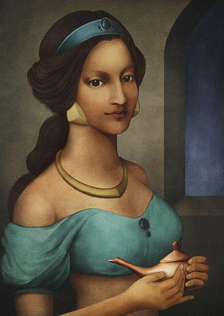 Disney-Princesses-in-Renaissance-3