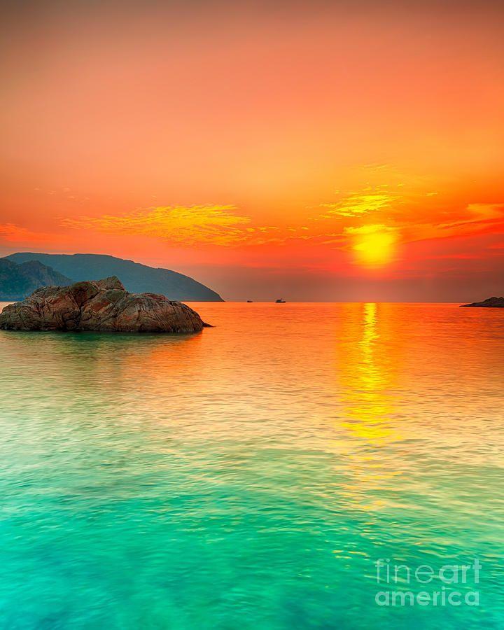 Sunset over the Sea - Con Dao, Vietnam