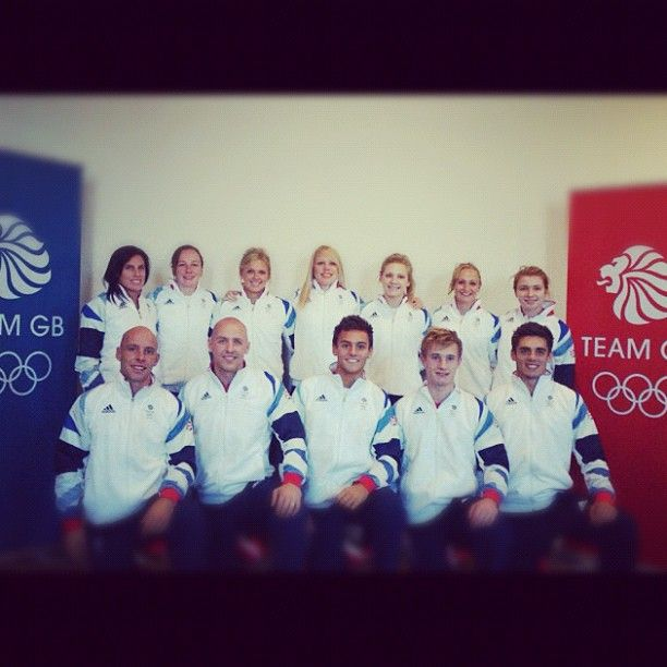 Team GB diving team :) oh how I love Tom, Jack, and Chris