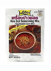 Thai Khao Soi Seasoning Mix, Lobo available online at TempleofThai.com » Temple of Thai I am soooo excited!! My favorite Thai dish of all time!  Ordering it by the case!!