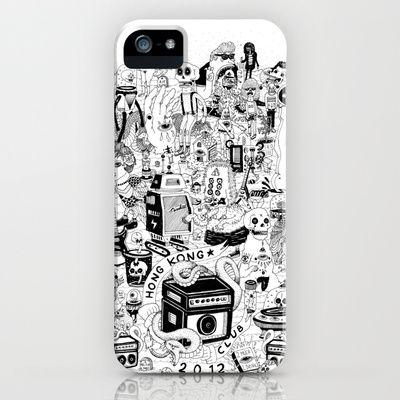 HONG KONG CLUB iPhone & iPod Case