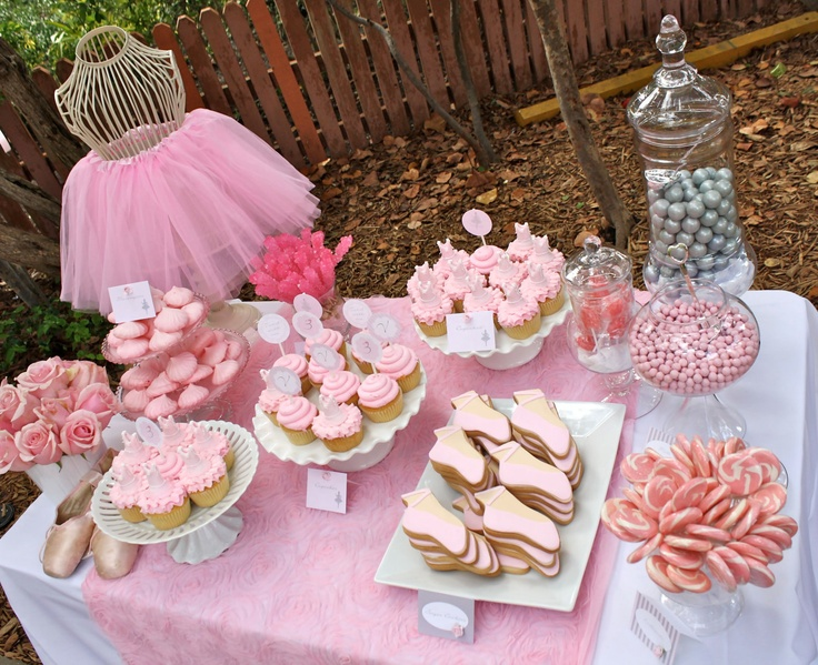 Love this ballet party table!