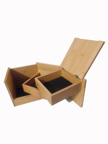 Jewelry Box Bamboo Fun Cube from IMPERIO Vida