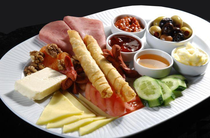 A Turkish breakfast