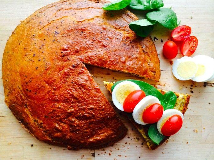 Mandel- och morotsbröd, glutenfritt