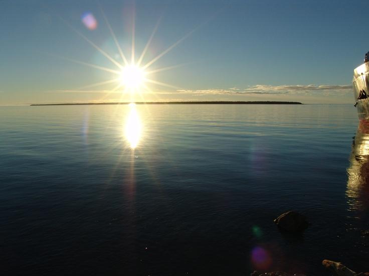 Un paysage tranquille pour des vacances bien méritées à Rimouski!  www.tourisme-rimouski.org